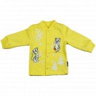Кофточка детская КЛ.050.001.0.193.055, желтый.