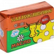 Масло сладкосливочное несоленое, 82.5%, 180 г.