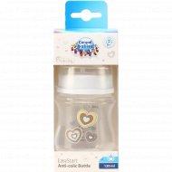 Бутылочка «Canpol Babies» пластиковая, антиколиковая, 120 мл.