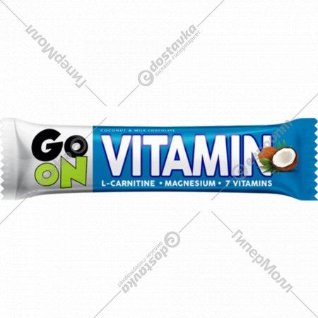 Батончик «Go On Energy» кокосовый в молочном шоколаде, 50 г.