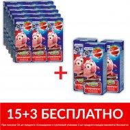 Молочный коктейль «Смешарики» Х18, клубника, 2.5%, 210 мл.
