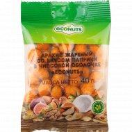 Арахис в чипсовой оболочке «Econuts» со вкусом паприка 40 г.