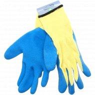 Перчатки вязаные полиэфирные, размер 8-9.