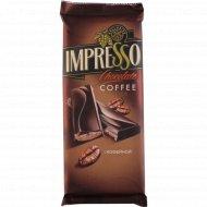 Шоколад «Impresso» с кофейной начинкой, 200 г.