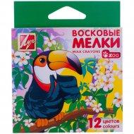 Восковые мелки «Zoo» 12С 865-08, 12 цветов.