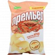 Чипсы картофельные «Премьер» со вкусом краба, 70 г.