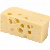Сыр сычужный твердый «Влощовский» 45%, 1 кг., фасовка 0.4-0.5 кг