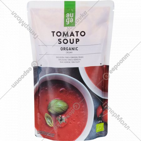 Крем-суп томатный «Auga» 400 г