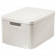 Корзина «Curver» style box l v2 lid, 205862, 445x330x248 мм.