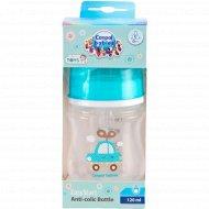 Бутылочка для кормления «Canpol Babies» антиколиковая, 120 мл.