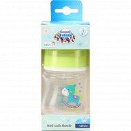 Бутылочка «Canpol Babies» для кормления антиколиковая, 120 мл.