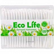Ватные палочки «Eco Life» 200 шт.