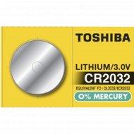 Элемент питания «Toshiba» CR2032, 1 шт.
