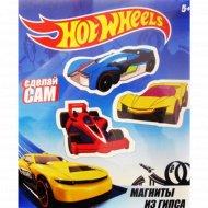 Набор для создания магнитов из гипса «Hot Wheels».