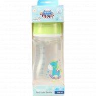 Бутылочка «Canpol Babies» пластиковая антиколиковая, 240 мл.