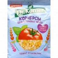Чипсы цельнозерновые «Dr Korner» с томатом и базиликом, 50 г