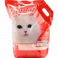 Наполнитель для кошек «Super Benek Crystal» силикагель, 3.2 кг.