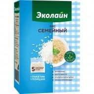 Крупа рисовая «Эколайн» шлифованная «Рис популярный» 500 г.