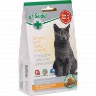 Лакомство для кошек «dr Siedel» для красивой шерсти, 50 г.