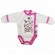 Полукомбинезон детский КЛ.110.004.0.026.005/006, розовый.