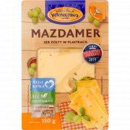 Сыр сычужный «Маасдамер» 45%, 150 г.