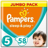 Подгузники «Pampers» Sleep & Play 11-16 кг, 5, 58 шт.