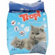 Наполнитель для кошачьего туалета «Tropi» 3.6 л.