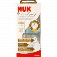 Бутылочка «NUK» Nature Sense, S, размер 1, 0-6 мес, 150 мл.