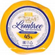 Cыр полутвердый «Lombree» классический, 45%, 1 кг., фасовка 0.25-0.3 кг