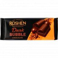 Шоколад пористый черный «Roshen» экстрачерный, 80 г.