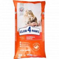 Сухой корм для взрослых кошек «Club 4 Paws» премиум, 14 кг.