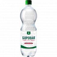 Вода минеральная газированная «Боровая» 1 л.