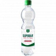 Вода минеральная газированная «Боровая» 0.5 л.