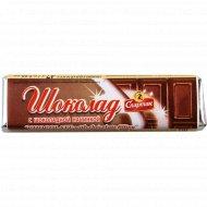 Шоколад темный с шоколоданой начинкой «Спартак» 47 г.