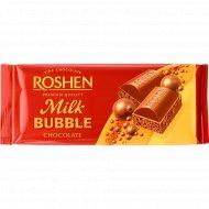 Шоколад «Roshen» пористый, молочный, 80 г