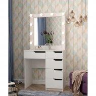Туалетный столик «Мир Мебели» с зеркалом и подсветкой SV-26.