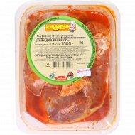 Стейк из свинины для барбекю, охлажденный, 1 кг.