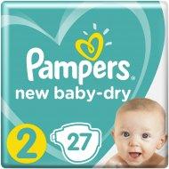 Подгузники «Pampers» New Baby Dry, 3-6 кг, 2 размер, 27 шт.