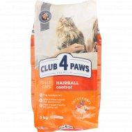 Сухой корм для взрослых кошек «Club 4 Paws» премиум, 5 кг.