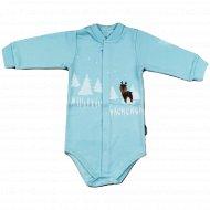 Полукомбинезон детский «Амелли» голубой.