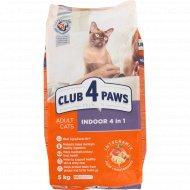Корм для кошек «Club 4 Paws» 4 в 1, 5 кг