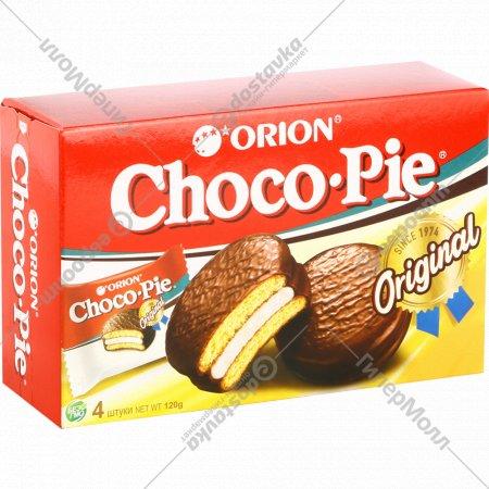 Печенье-бисквит «Чоко Пай Орион» Оригинал, 4х30 г 120 г