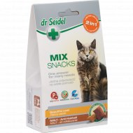 Лакомство для кошек «dr Siedel» для красивой шерсти, мальт, 50 г.