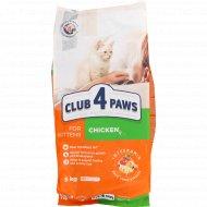 Сухой корм для взрослых кошек «Club 4 Paws» с курицей, 5 кг