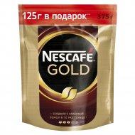 Кофе растворимый «Nescafe Gold» с добавлением жареного молотого, 375 г.