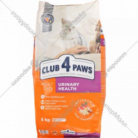 Сухой корм для взрослых кошек «Club 4 paws» 5 кг