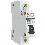 Автоматический выключатель «EKF» Basic, MCB4729-1-50C