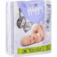 Пеленки детские «Bella Baby Happy» XL, 90х60, 5 шт
