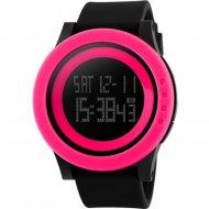 Наручные часы «Skmei» 1193-1, Черный/Ярко-Розовый