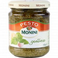 Соус «Pesto Genovese» на основе растительного масла с чесноком, 190 г.